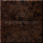искусственный камень черно-коричневого цвета