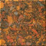 искусственный камень оранжевого цвета