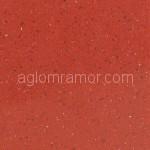 искусственный камень красного цвета